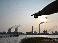 Угольная электростанция Вуйцзин в Шанхае