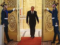 Президент России Президент России Владимир Путин в Московском Кремле Путин в московском Кремле