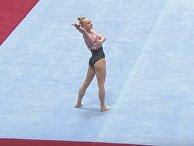 Российская гимнастка сразила японцев своей красотой