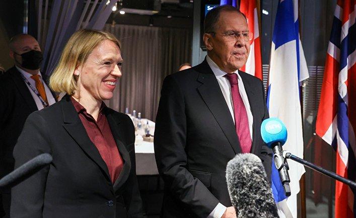 Визит главы МИД РФ С. Лаврова в Норвегию