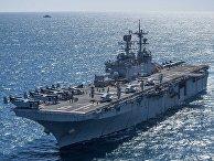 Корабль ВМС США Bonhomme Richard